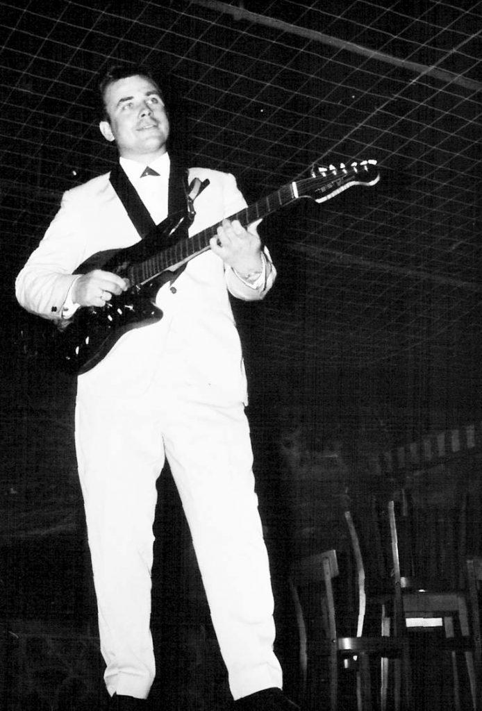 Lothar Raufeisen in den 60ern